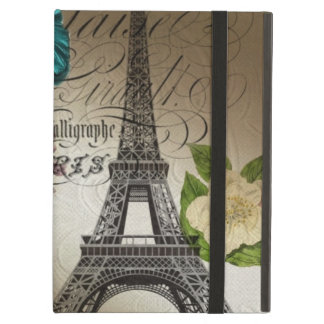 moderner Vintager Turm Paris Eiffel der lila
