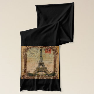 moderner Vintager Turm Paris Eiffel des Schal