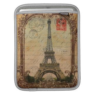 moderner Vintager Turm Paris Eiffel des Sleeve Für iPads
