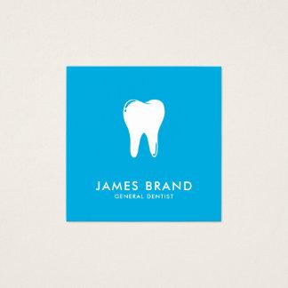 Moderner Zahnarzt Quadratische Visitenkarte
