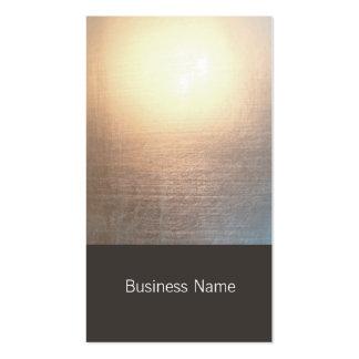 Moderner Zen-Glühen-heilende Künstenatürlicher Visitenkartenvorlage