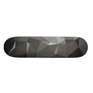 Modernes abstraktes geometrisches Muster - 18,4 Cm Mini Skateboard Deck
