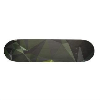 Modernes abstraktes geometrisches Muster - Skateboard