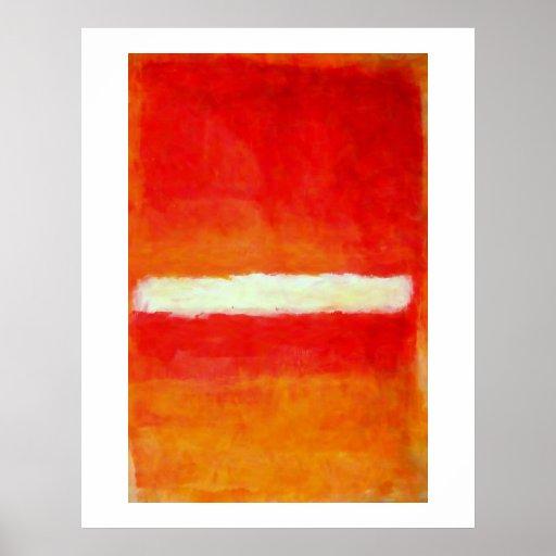 Modernes abstraktes Kunst-Plakat - Rothko Art