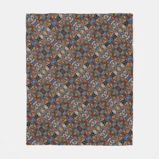 Modernes abstraktes Muster M. Collins Fleecedecke