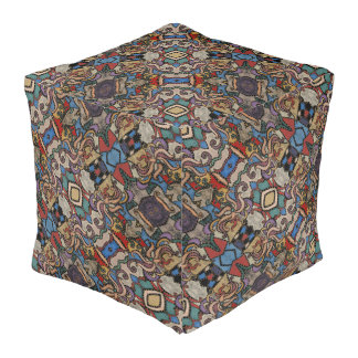 Modernes abstraktes Muster M. Collins Hocker