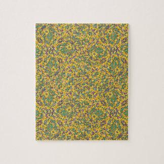 Modernes abstraktes verziertes Muster Puzzle