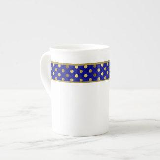 Modernes Blau und Porzellantasse