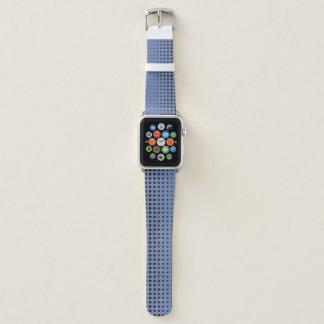 Modernes blaues und schwarzes Apple-Uhrenarmband Apple Watch Armband
