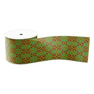 Modernes buntes Muster Ripsband
