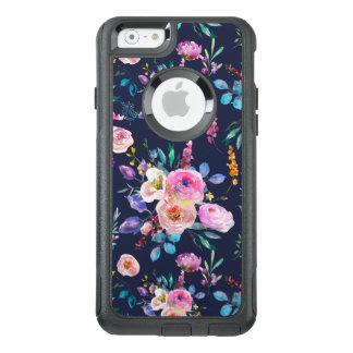 Modernes buntes Watercolors-Blumen-Muster OtterBox iPhone 6/6s Hülle