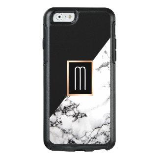 Modernes einzigartiges Schwarz-weißes OtterBox iPhone 6/6s Hülle