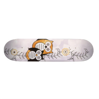 Modernes Eulen-Skateboard Bedruckte Skateboarddecks