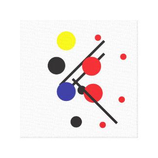 Modernes geometrisches malendes #2 leinwanddruck