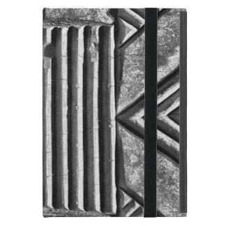 Modernes geometrisches schwarzes u. weißes iPad mini schutzhülle