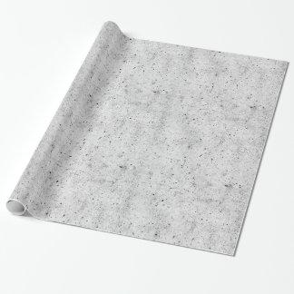 Modernes konkretes Schwarzweiss-Muster Einpackpapier