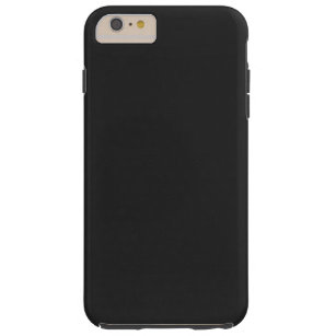 Modernes kundengerechtes Holzkohlen-Schwarzes, Tough iPhone 6 Plus Hülle