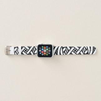 Modernes künstlerisches abstraktes apple watch armband