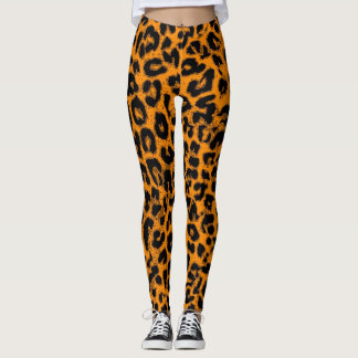 Modernes Leopard-Haut-Muster #13 Leggings