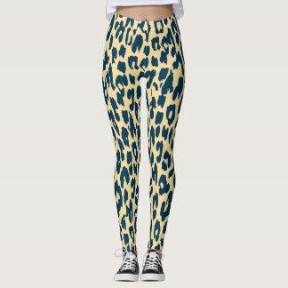 Modernes Leopard-Haut-Muster #14 Leggings