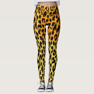 Modernes Leopard-Haut-Muster #17 Leggings