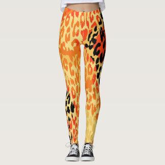 Modernes Leopard-Haut-Muster #20 Leggings