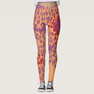 Modernes Leopard-Haut-Muster #23 Leggings
