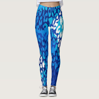 Modernes Leopard-Haut-Muster #26 Leggings