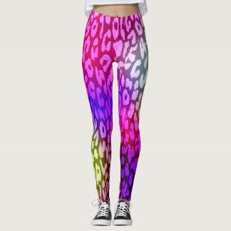 Modernes Leopard-Haut-Muster #30 Leggings