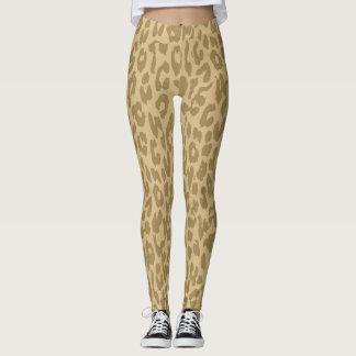 Modernes Leopard-Haut-Muster #36 Leggings