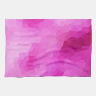 Modernes lila und rosa beflecktes Glas-Mosaik Küchentuch