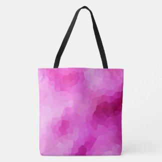 Modernes lila und rosa beflecktes Glas-Mosaik Tasche