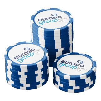Modernes Logo Poker Chip Set