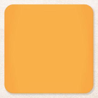 Modernes Luxusgold kundengerecht Rechteckiger Pappuntersetzer