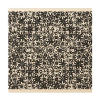 Modernes orientalisches Muster Holzleinwand