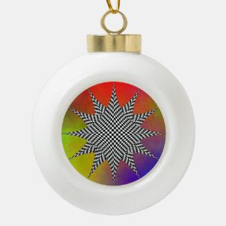 Modernes Plasma durch Kenneth Yoncich Keramik Kugel-Ornament