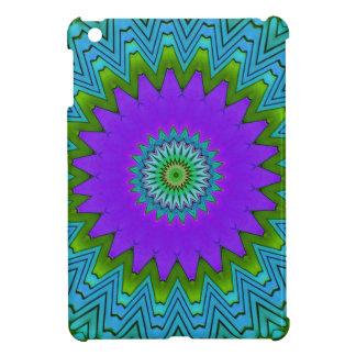 Modernes Poplila Grün farbiger Mandala iPad Mini Hülle