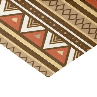 Modernes südwestliches geometrisches, Brown, TAN Seidenpapier