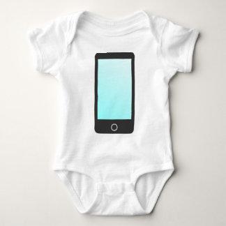 Modernes Telefon Baby Strampler
