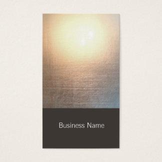 Modernes Zen-Glühen-Yoga und heilende Künste Visitenkarten