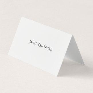 Modernistische Gelegenheits-Namenskarte Visitenkarten