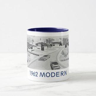Modernistische WohnTasse echte 1962 Tasse