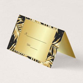 Modische Goldfolie, Gewohnheit Platzkarte