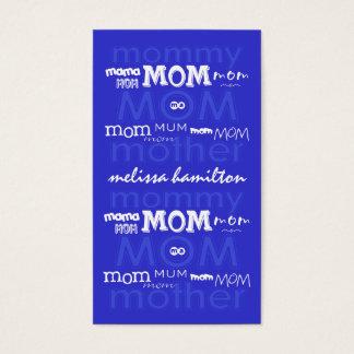 Modische Mama-Telefonkarten Visitenkarten