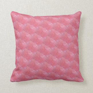 Modische rosa Farbenfliesen werfen Kissen 41 x 41