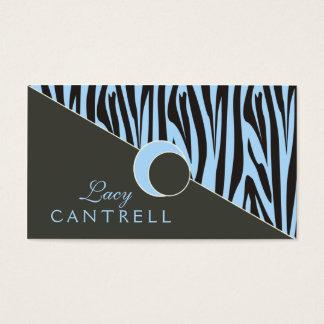 Modische Zebra-Geschäfts-Karten Visitenkarten