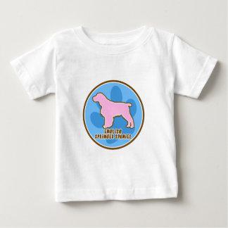 Modischer englischer SpringerSpaniel Baby T-shirt
