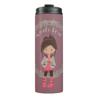 Modischer Girly Avatara Thermosbecher