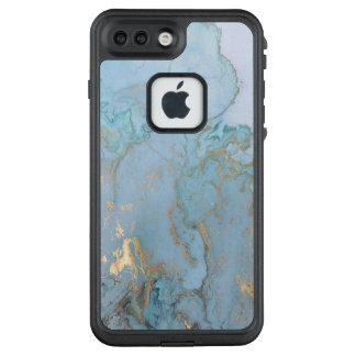 Modischer Marmorfall LifeProof FRÄ' iPhone 8 Plus/7 Plus Hülle