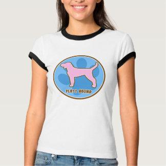 Modischer Plott Jagdhund T-Shirt